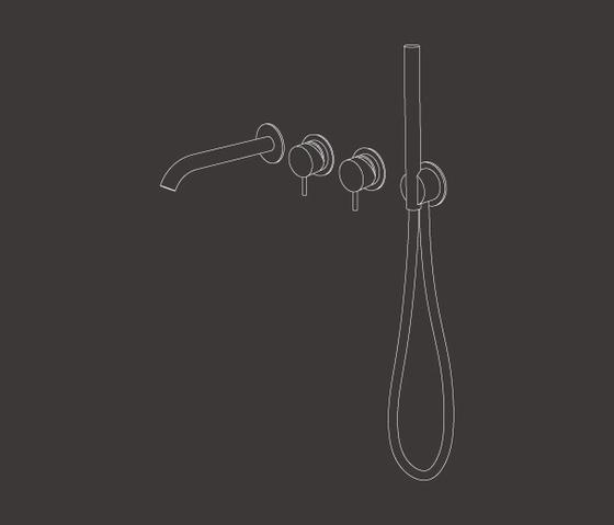 Milo360 MIL44 de CEADESIGN | Grifería para bañeras
