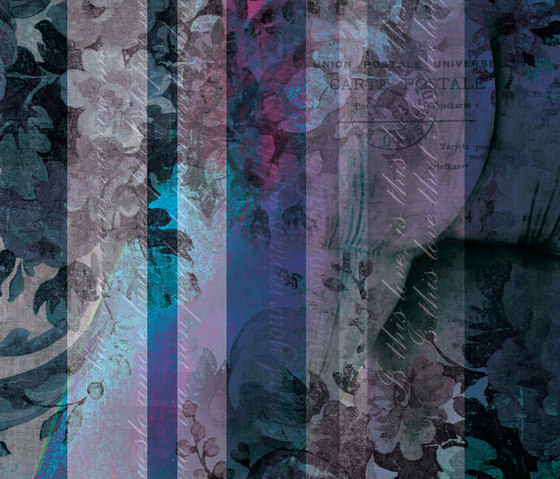 Affreschi Strip by antoniolupi | Wall art / Murals
