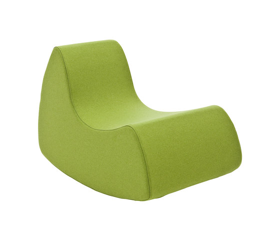 Grand Prix rocking chair de Softline A/S | Sillones