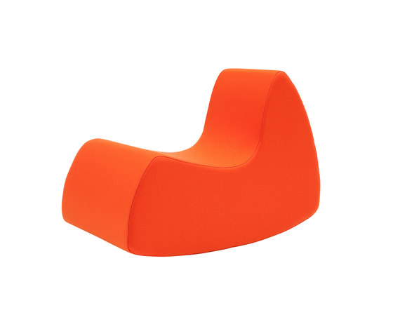 Grand Prix rocking chair di Softline A/S | Poltrone