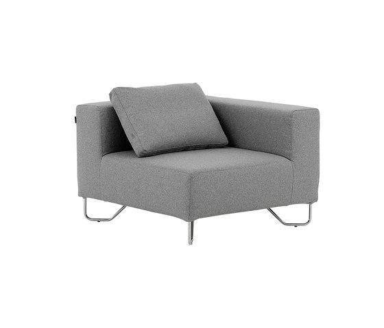 Lotus corner de Softline A/S | Elementos asientos modulares