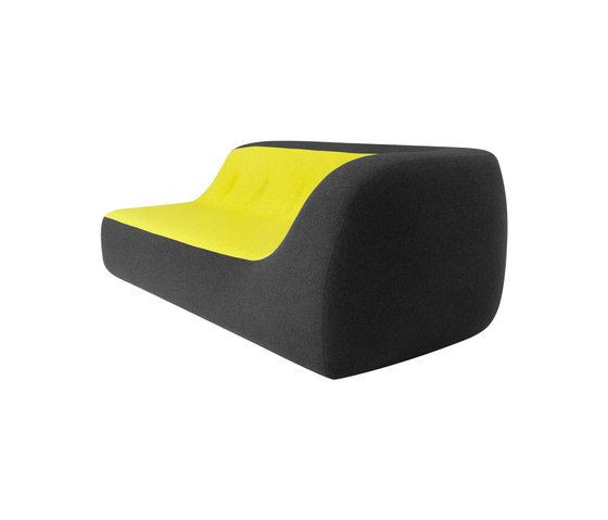 Sand sofa/chaise longue by Softline A/S | Lounge sofas