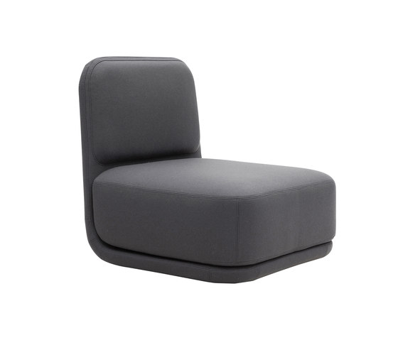 Standby chair medium by Softline A/S | Lounge-work seating