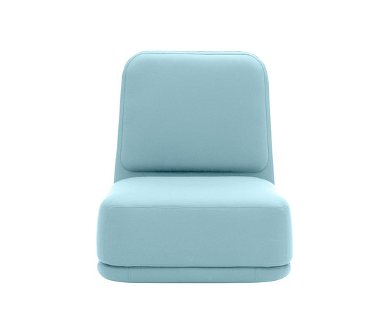 Standby chair high by Softline A/S | Lounge-work seating