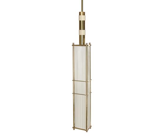 Arbor Pendant White & Brass by Bert Frank | General lighting