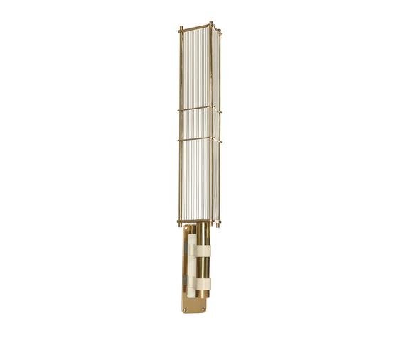 Arbor Wall light White & Brass von Bert Frank | Allgemeinbeleuchtung