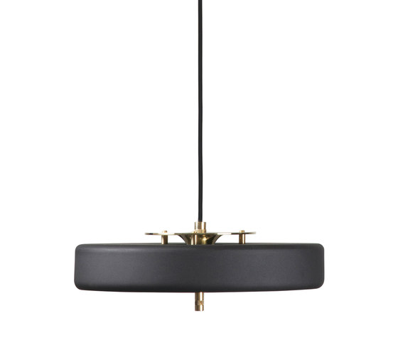 Revolve Pendant Black by Bert Frank   General lighting