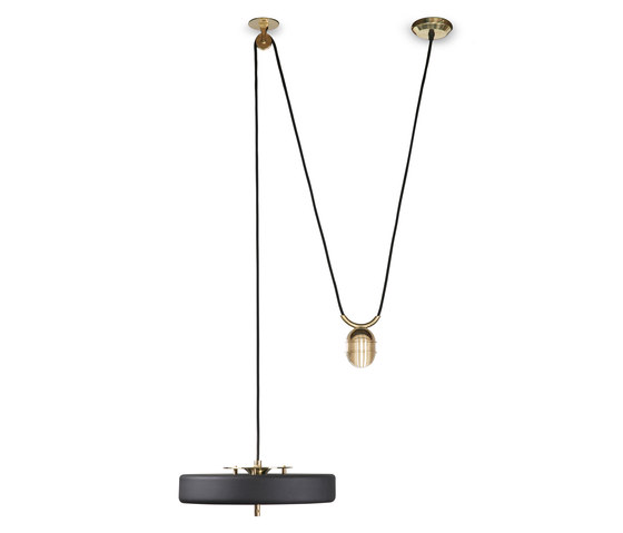Revolve Rise & Fall Pendant Lamp by Bert Frank | General lighting