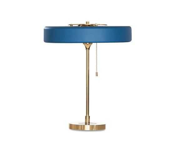 Revolve Table Petrol Blue by Bert Frank | General lighting