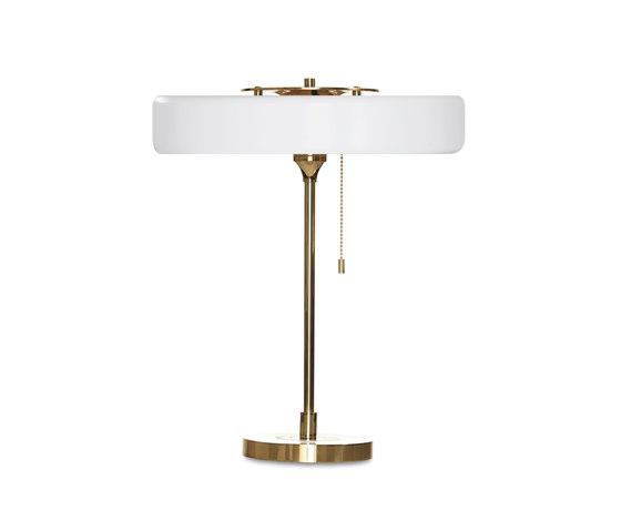 Revolve Table White by Bert Frank | General lighting