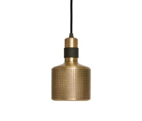 Riddle Pendant Black & Brass by Bert Frank | General lighting