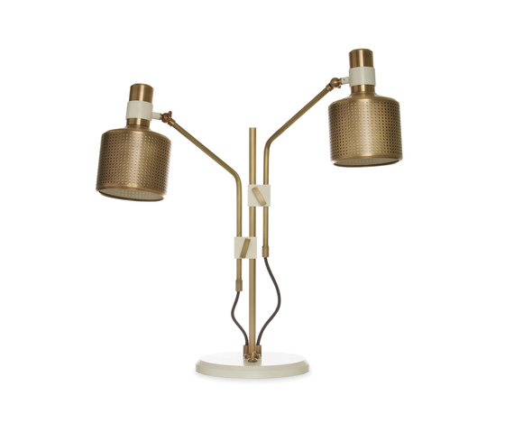 Riddle Double Table Light di Bert Frank | Lampade tavolo