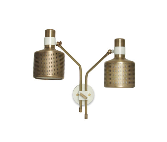 Riddle Double Wall Light by Bert Frank | General lighting