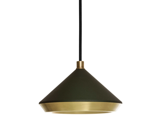 Shear Pendant Black & Brass by Bert Frank | General lighting