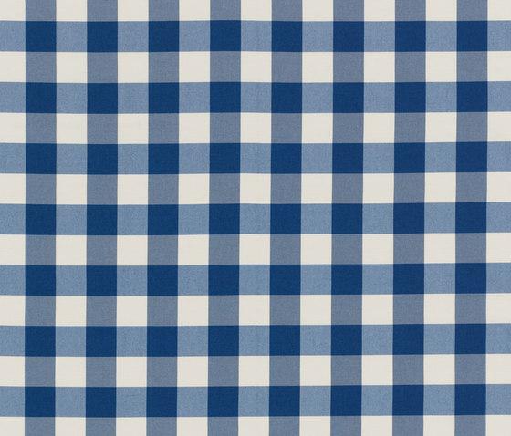 NIZZA-CHECK - 96 MARINE by Nya Nordiska | Outdoor upholstery fabrics