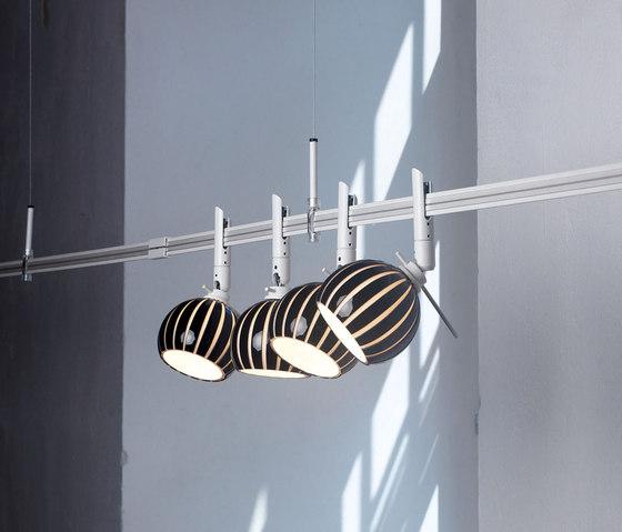 12V turn diva black by planlicht | Track lighting