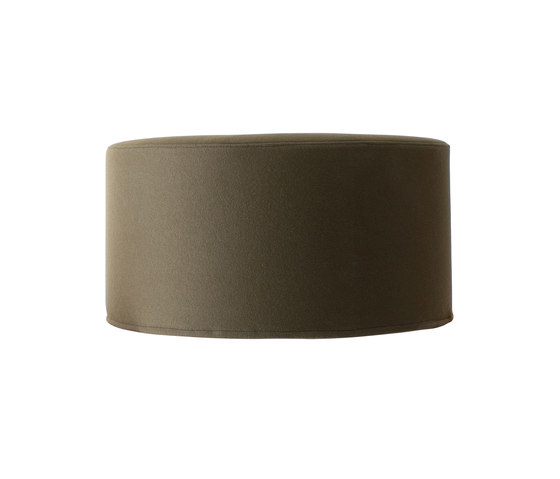 Drum pouf large by Softline A/S | Poufs
