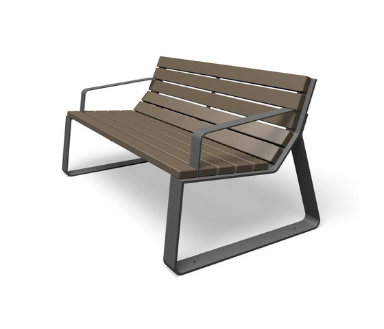 Mayfield by miramondo   Exterior benches