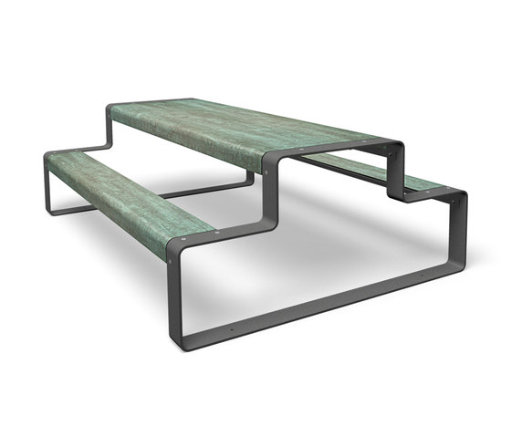 Outline by miramondo | Benches with tables