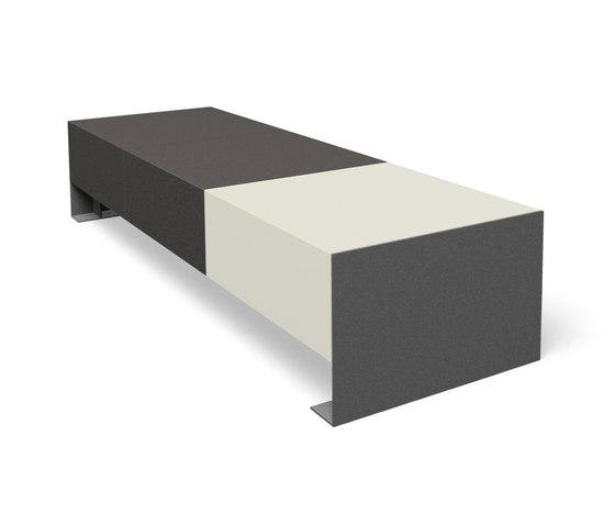 Passepartout Concrete by miramondo | Exterior benches