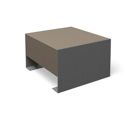 Passepartout Concrete by miramondo | Exterior chairs