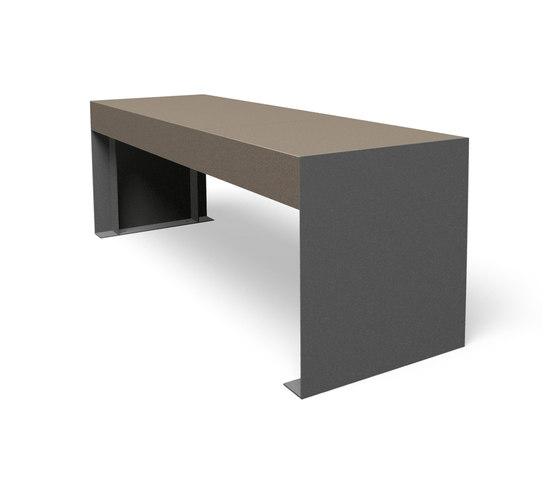 Passepartout Concrete by miramondo | Exterior tables