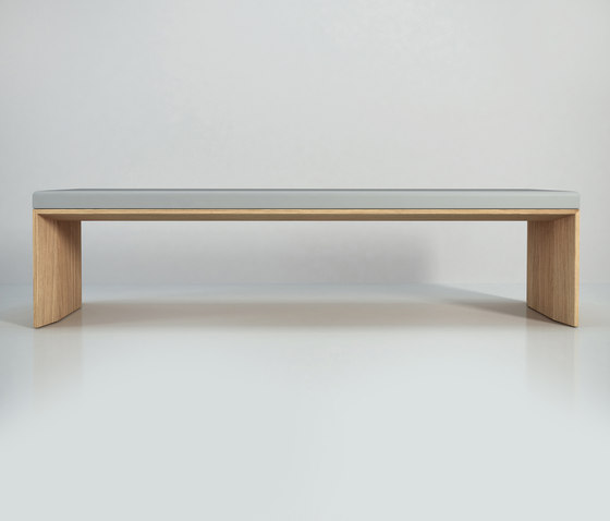 Planar without cushion by Studio Brovhn | Waiting area benches
