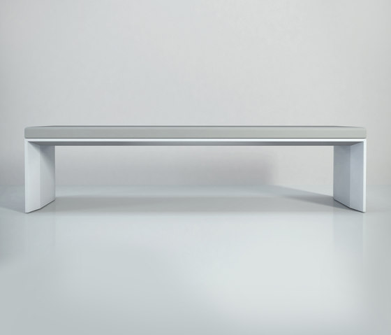 Planar with cushion by Studio Brovhn | Waiting area benches