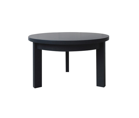 Radius low table round by Studio Brovhn | Lounge tables