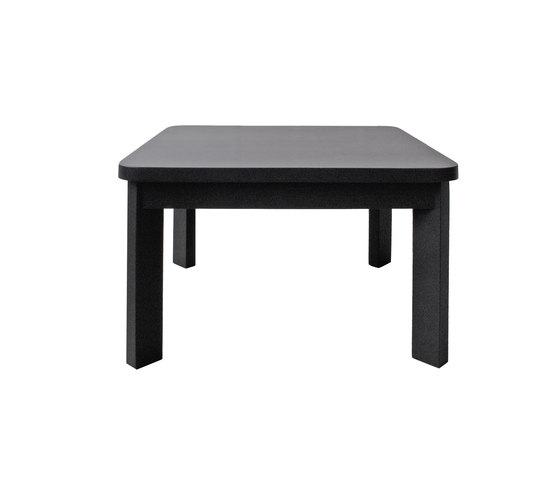 Radius low table square by Studio Brovhn | Lounge tables