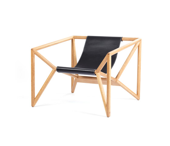 M3 Loungechair di Neue Wiener Werkstätte | Poltrone lounge