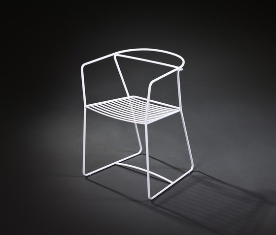 Limeryk chair 1 by Delivié | Garden chairs