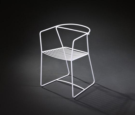 Limeryk chair 1 de Delivié | Sillas de jardín