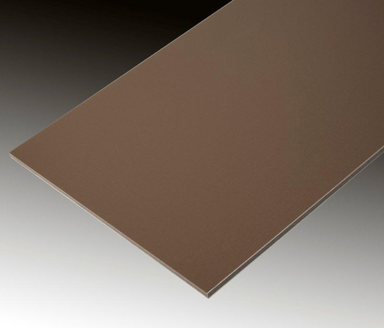 ALUCOBOND® anodized look Satin brown by 3A Composites | Sheets