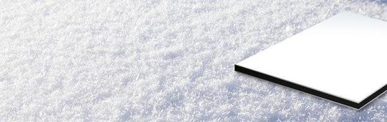 ALUCOBOND® Sparkling | White Silver 884 von 3A Composites | Metallbleche / -paneele