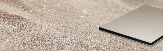 ALUCOBOND® Sparkling | Sahara Crystal 886 von 3A Composites | Bleche