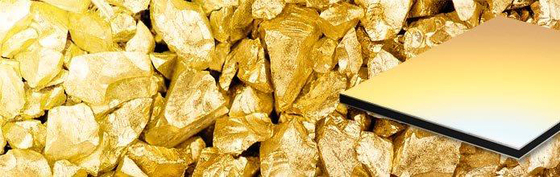 ALUCOBOND® spectra & sparkling | Desert Gold 921 di 3A Composites | Lastre