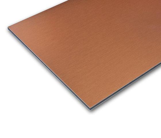 ALUCOBOND® naturAL FINESSE | Copper 412 di 3A Composites | Lastre