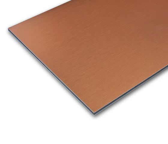 ALUCOBOND® naturAL FINESSE | Copper 412 von 3A Composites | Bleche