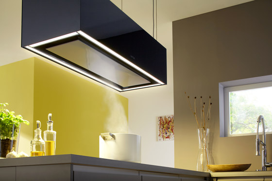 Ceiling-lift hood Skyline Edge by Berbel | Kitchen hoods