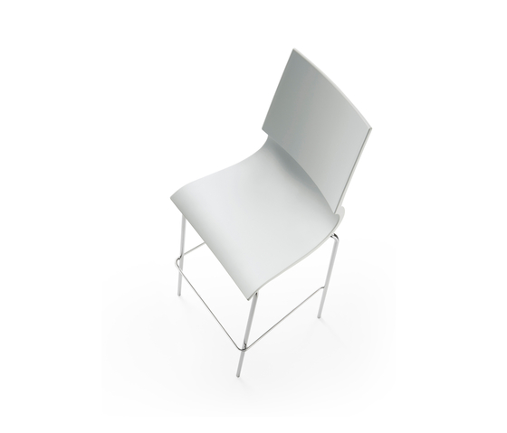 Ricciolina High stool polypropylene von Maxdesign | Barhocker