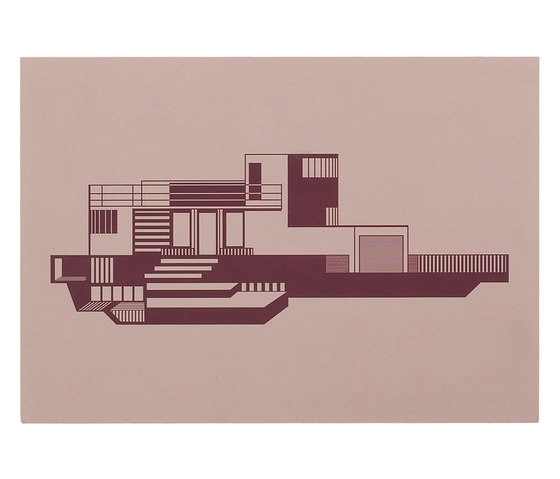 House Graphics | Functionalism House by by Lassen | Wall decoration