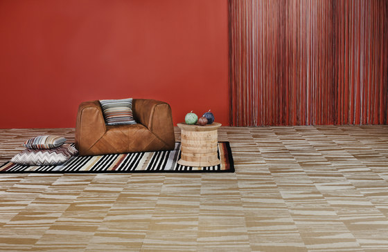 Missoni Flame Wood by Bolon | Wall-to-wall carpets