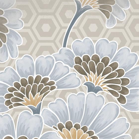 Vodevil | Flore gris de VIVES Cerámica | Baldosas de cerámica