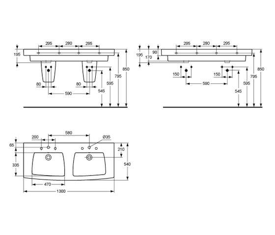 ventuno ceramics by ideal standard ventuno standbidet. Black Bedroom Furniture Sets. Home Design Ideas