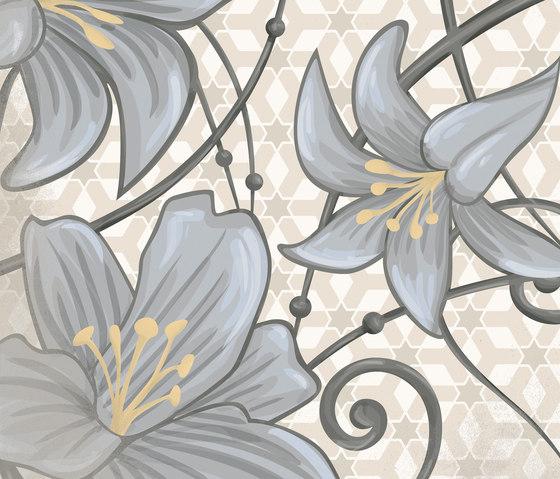 Flore gris von VIVES Cerámica | Keramik Fliesen