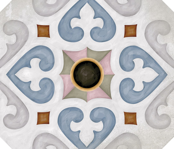 Octogono Musichalls Multicolor von VIVES Cerámica   Keramik Fliesen