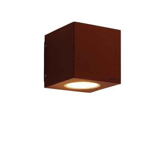 Cube xl duo Luxeon A oxide de Dexter | Lámparas exteriores de pared