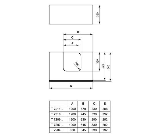 simply u furniture ideal standard simply u vanity units. Black Bedroom Furniture Sets. Home Design Ideas