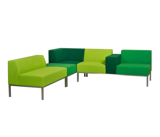 Bricks Sofa by Palau | Modular seating systems